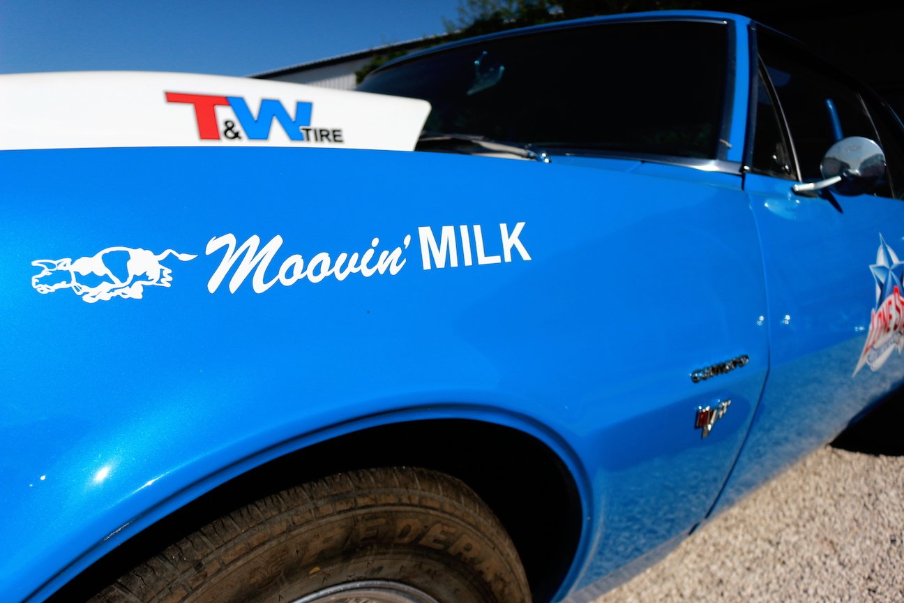 "1967 Chevrolet Camaro RS ""Moovin' Milk"". I wouldn't mind if the milkman drove this. Wait, I guess milkmen don't exist anymore."